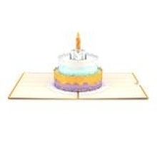 LovePop Happy Birthday Cake 3D card