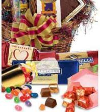 Chocolate & Candy Gift Basket