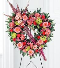 Eternal Rest Heart Wreath