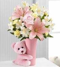 Baby Girl Big Hug Bouquet